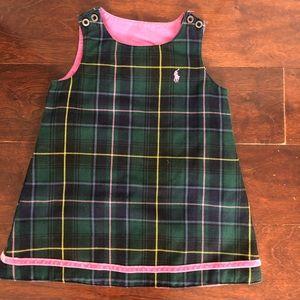 Ralph Lauren reversible toddler dress
